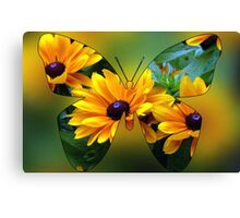 Flutterby Fun Canvas Print