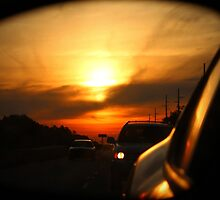 Leaving Sunset Behind by Cynthia48