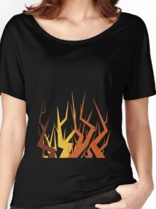 Radiohead Inspired Art - Supercollider / The Butcher Women's Relaxed Fit T-Shirt