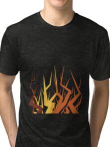 Radiohead Inspired Art - Supercollider / The Butcher Tri-blend T-Shirt