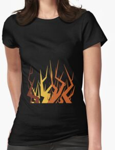 Radiohead Inspired Art - Supercollider / The Butcher Womens Fitted T-Shirt
