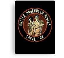 United Underwear Models Canvas Print
