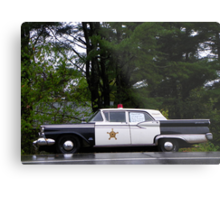 Mayberry Police Car? Metal Print
