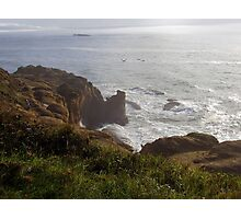 In The Sepulcher There By The Sea Photographic Print