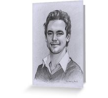 Matt Bomer Greeting Card