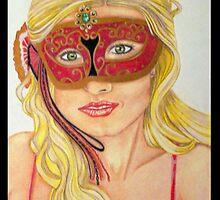 The Golden Masquerade by Sandra Gale