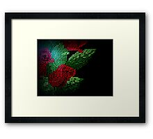 watching from a distance... Framed Print