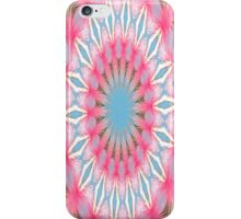 Pink and Blue Kalidescope iPhone Case iPhone Case/Skin