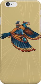 Thunderbird Iphone Case by Sarah  Mac