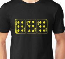 666 Cards - Yellow Unisex T-Shirt
