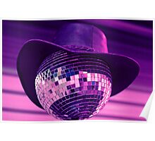 Keith's Disco Hat Poster