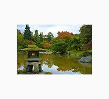 Koi Pond and Pagoda Unisex T-Shirt