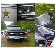 The Rest of the Story - Mayberry Police Car Poster