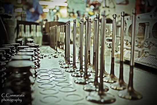 forest of toyota valves by cliffordc1