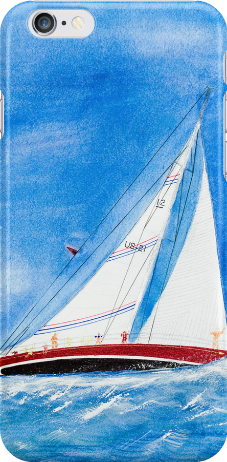 Sail Away (iPhone Case) by Maria Dryfhout