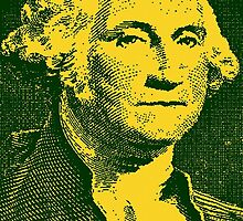 GEORGE WASHINGTON-1 DOLLAR by OTIS PORRITT