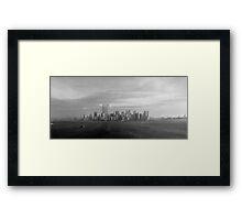New York City September ,95 Framed Print