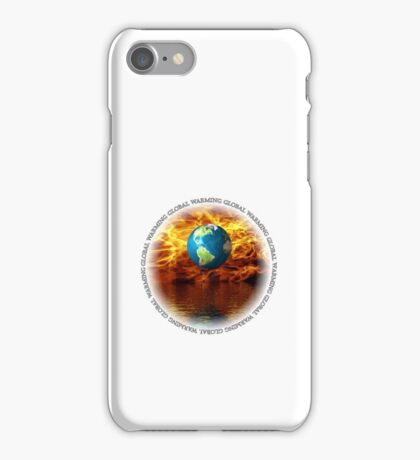 Global Warming White (iPhone case) iPhone Case/Skin