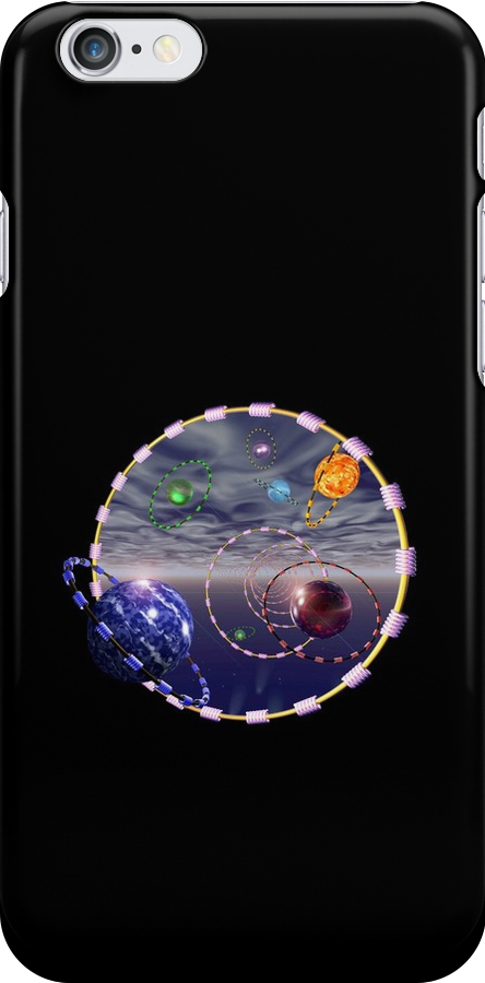Lost in Space  (iPhone case) by jewelskings