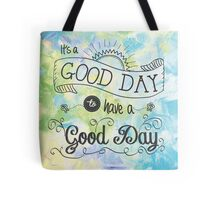 It's a Colorful Good Day by Jan Marvin Tote Bag