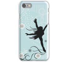 ice skater  iPhone Case/Skin