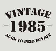 Vintage 1985 birthday  by personalized