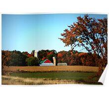 Rural Wisconsin In Autumn Poster