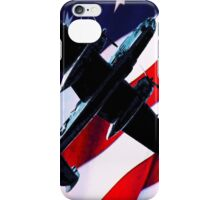 iPhone Case--Red White and Blue Bomber iPhone Case/Skin