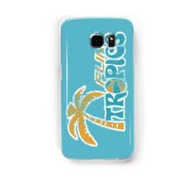 Flint Tropics Washed Retro Samsung Galaxy Case/Skin