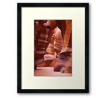 Antelope Canyon - Arizona  Framed Print