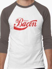 Enjoy Bacon Men's Baseball ¾ T-Shirt