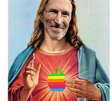 Steve Jobs Jesus  by Matthew Osier