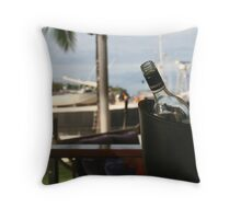 Port Douglas Yacht Club Throw Pillow