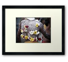 Anything for my God! Framed Print