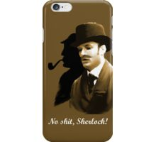 Watson says ... iPhone Case/Skin