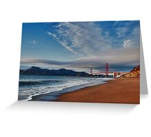 Bakers beach Greeting Card