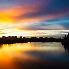 Putrajaya At Sunset, Malaysia by AbZahri AbAzizis