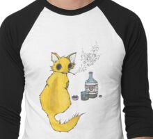 Bar Cat Men's Baseball ¾ T-Shirt