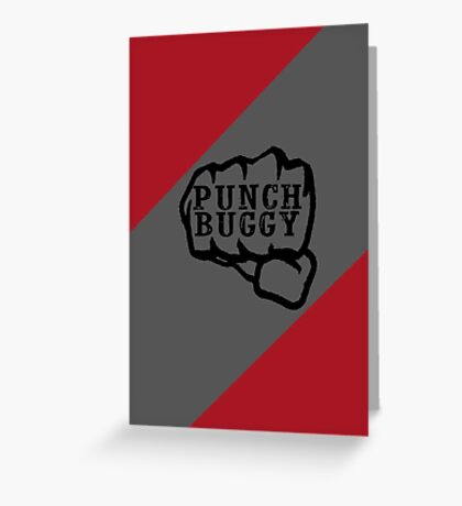 punch buggy Greeting Card