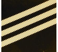 Adidas Black Stripe  Photographic Print