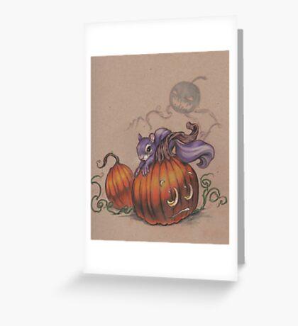 Halloween Pumpkin Patch  Greeting Card