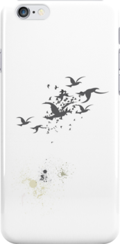 Bombs Away iPhone Case by Carrie Jackson