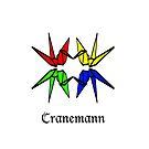 Crane Unity Iphone case by Cranemann