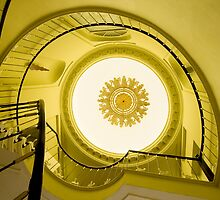 Napoleon Staircase, Bruges by cherryannette