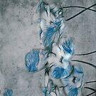 Romantiquite Blue - iPhone case by Aimelle
