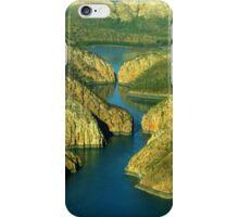 Horizontal falls iPhone Case/Skin