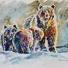 Ice Bears by twopoots