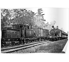Fading Memories, Engine 2705, Thirlmere NSW Poster