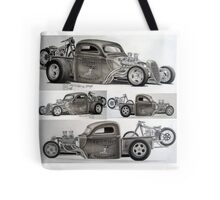 Mutant Dragster  Tote Bag
