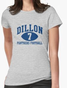 Dillon Panthers Football #7 Womens Fitted T-Shirt